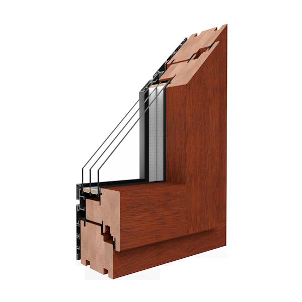 Drewniano aluminiowe okna Drutex - Stars Tychy